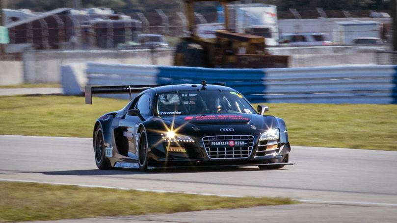 Thwaits and Showtime Audis Head West for Action at Inaugural GT Celebration Event