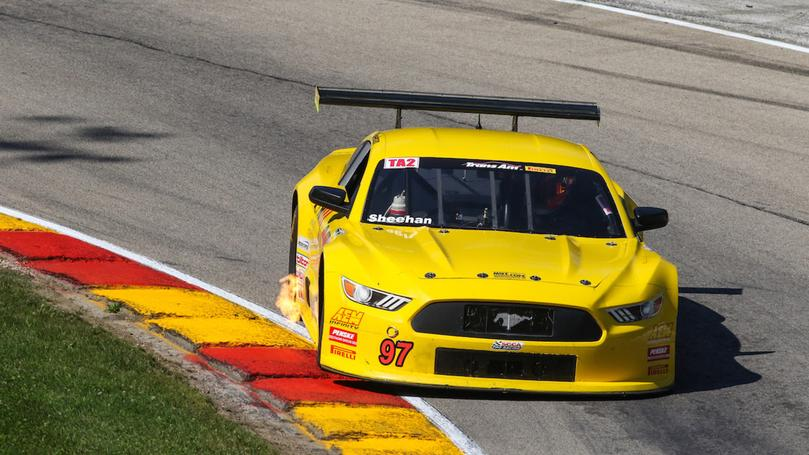 Tough Circumstances at Road America Fail to Break Iron Man Sheehan