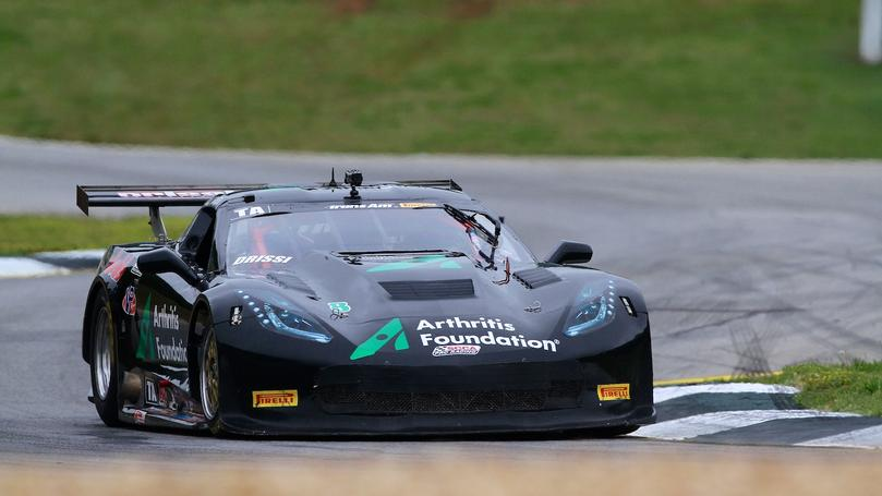 Tomy's Day Ends Early at Road Atlanta