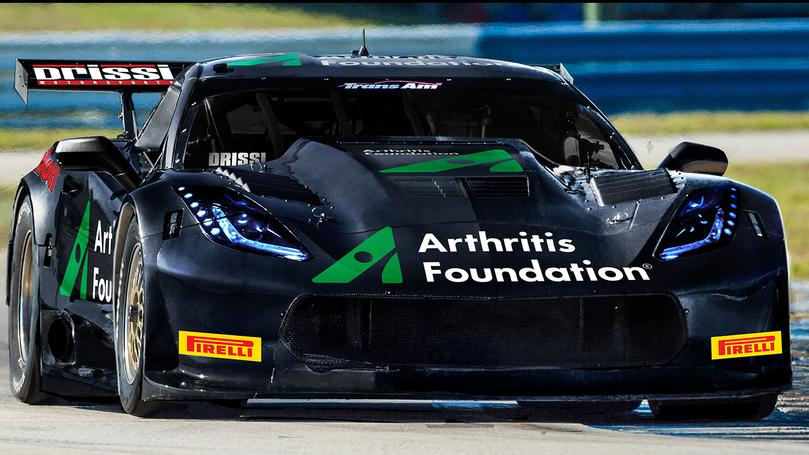 Tomy Drissi Supports the Arthritis Foundation Racing Trans Am West at Auto Club Speedway