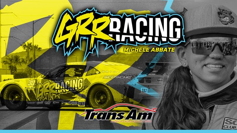 Shift Up Now Welcomes Trans Am Driver and Team Owner Michele Abbate