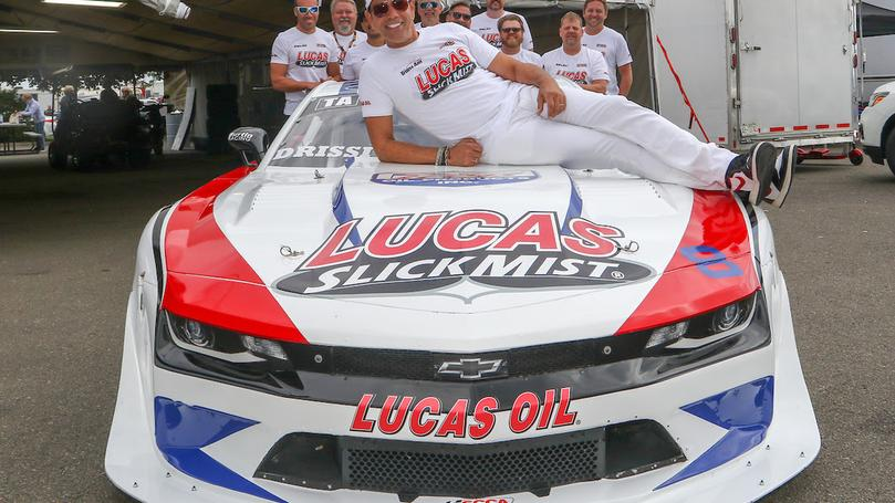Champion Drissi and Lucas Oil Trans Am Camaro to appear at AAPEX Show Las Vegas