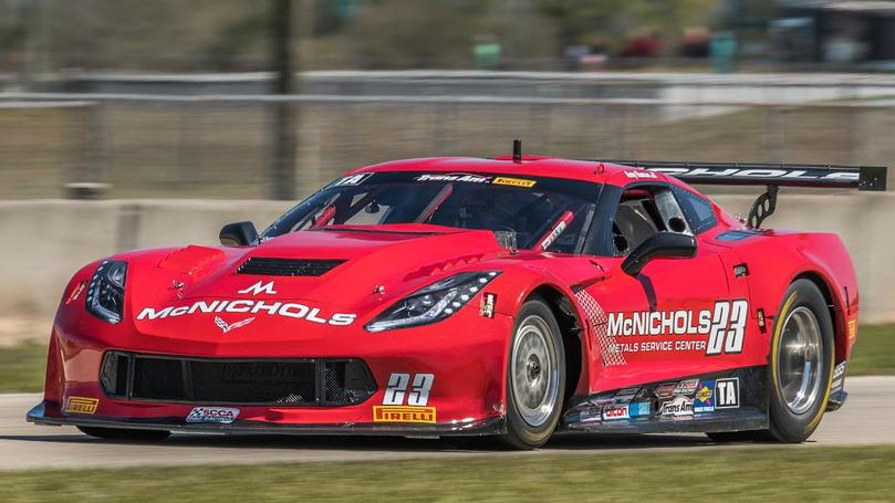 Ruman Scores Trans Am Podium at Road Atlanta in Wild Weather Race