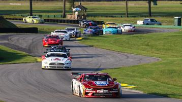 Lawrence Loshak goes flag-to-flag in VIR Trans Am 100