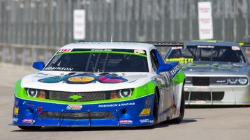 Gar Robinson Earns P2 Finish in Dual 2 of the Motor City 100 at Detroit Grand Prix