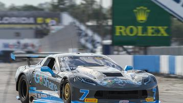 GoShare Corvette Ready for Burtin Racing Atlanta Homecoming