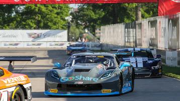 Heartache in Motown for Burtin Racing