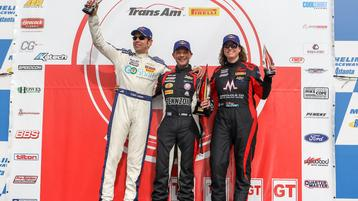 Burtin Racing Dominate Road Atlanta with Trans Am Victory