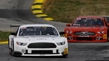 Justin Haley tops the TA2 charts in Road Atlanta Practice