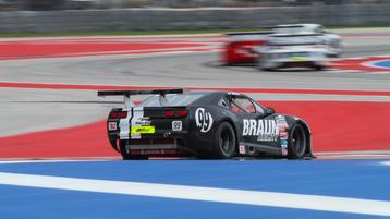Fix and Haley lead second practice at COTA