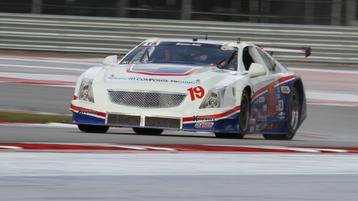 Trans Am practice at COTA limited in wet weather.