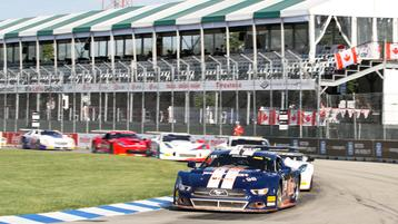Ernie Francis, Jr., cruises to victory in 3-Dimensional Services Motor City 100