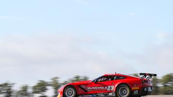 NJMP Trans Am Race Ends Early for Ruman