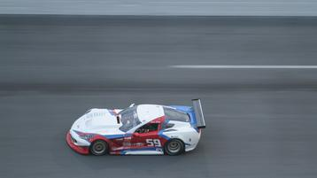 Simon Gregg leads evening practice at Daytona