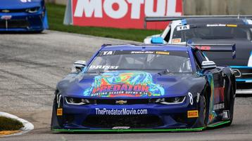 "Tomy Drissi ""The Predator"" Camaro Finishes Sixth at Road America"