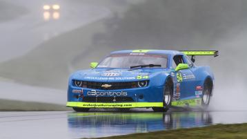 Lawerence, Andretti and Archer Riding the Storm Out at VIR