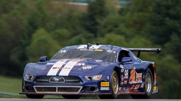 Ernie Francis, Jr., Captures Trans Am VIR Pole