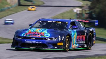 Late Race Tire Cut Drops Drissi to 8th at VIR