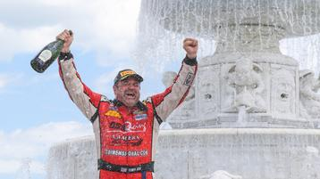 Tony Ave's 100thTrans Am Race A Wild And Winning One in Detroit