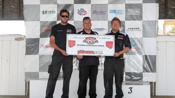 Solid Effort and Performance Award for Burtin Racing at Brainerd