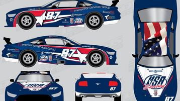 Partner Brazen Sports Helps Land USA Shooting on Trans Am Series Race Car