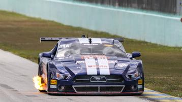 Ernie Francis, Jr., and Gar Robinson victorious in Trans Am races at Homestead-Miami