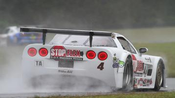 Tony Ave Racing's Paul Fix Wins Wet and Wild  Trans Am Race at Virginia International Raceway