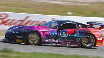 Drissi repeats atop the practice charts at Willow Springs in Trans Am West