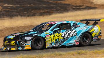 Grr Racing Earns Highest Finish with Dog Fight to the Checkered