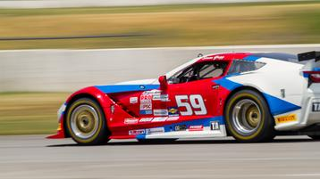 GREGG, McALLISTER TAKE HARD-EARNED POLES AT AUTO CLUB SPEEDWAY