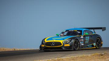 Awesome West Debut at Thunderhill for Gregg's Mercedes Marks New Era