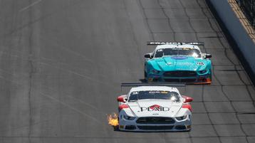 Dyson Dominates Trans Am at the Brickyard