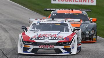 SHOW STOPPER TOMY DRISSI DOES NOT LET LAST LAP DRAMA GET IN THE WAY AT ROAD AMERICA