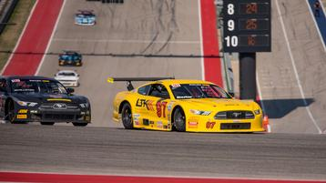 Sheehan Back in the Top Ten at COTA Showdown
