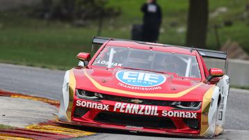 Lawrence Loshak on Pole for Road America Trans Am