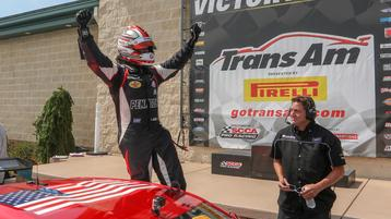 Dominant Loshak Secures His First Trans Am Win in Pittsburgh