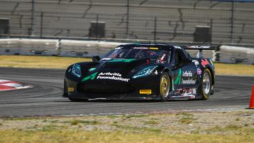 Drissi beats out Pickett to top charts in windswept practice at Auto Club