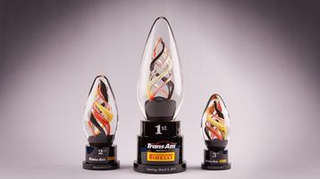 Trans Am Series presented by Pirelli debuts new Crystal Sensations Trophies at Sebring