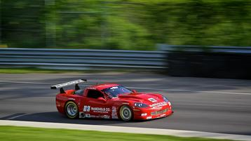 Ruman Ready for Home Run at Mid-Ohio