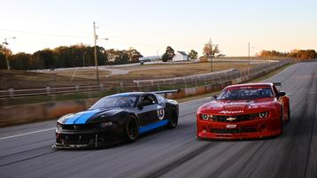American muscle drives Trans Am 2 grid growth