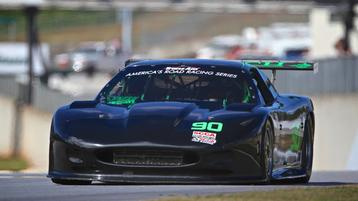 Mike Skeen leads practice in Trans Am return, Lawrence leads TA2