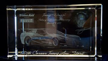 Tomy Drissi Recognized for his 100th Career TransAm Start
