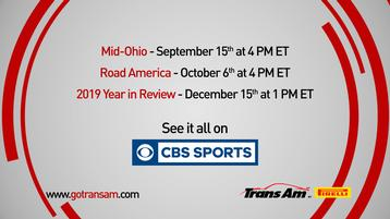 Continued Audience Growth for Trans Am Series (Trans Am Returns to TV)