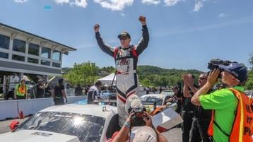 DYSON DOMINATES AT LIME ROCK PARK TRANS AM; TAKES CHAMPIONSHIP LEAD