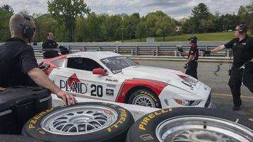 Dyson rebounds from Hoosier 100 crash to top Trans Am times at Lime Rock