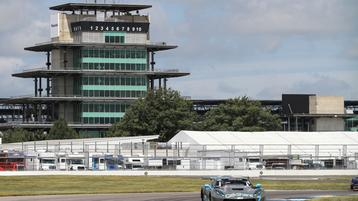 Hard Racing and Hard Luck for Burtin Racing and GoShare at the Brickyard