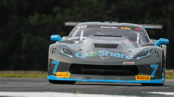 GoShare Corvette Ready for Motor City 100