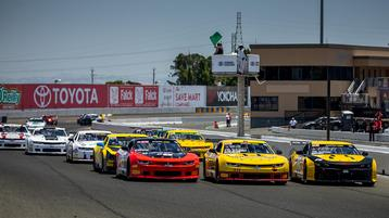 Wild Weekend at Sonoma Raceway Ends with Rookie's Maiden Trans Am Victory