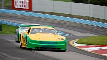 Rain follows Trans Am to Watkins Glen as drivers deal with wet track during practice session