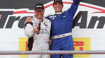 Double Podium for Tomy Drissi in Trans Am at Circuit of the Americas!